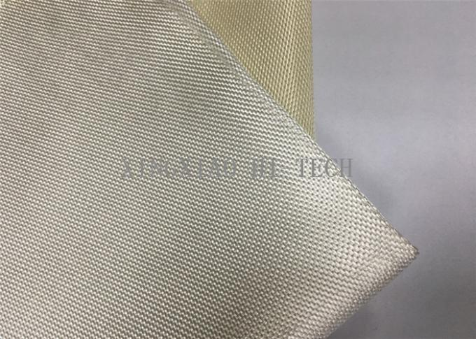 Heat Resistant Fireproof High Silica Fabric Pu Coated High Tensile