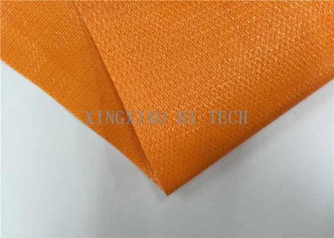 180 200 Pvc Coated Fiberglass Fabric Flame Resistant