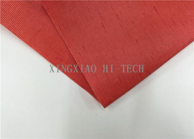 180 - 200℃ PVC Coated Fiberglass Fabric Flame Resistant Heat Insulation