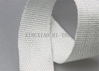Good Quality Fireproof Fiberglass Fabric & 20 - 200mm Thermal Insulation Tape Heat Resistant High Tensile Strength on sale