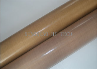 Good Quality Fireproof Fiberglass Fabric & -196℃ - 300℃ PTFE / Teflon Coated Fiberglass Fabric Non Sticky Heavy Duty on sale