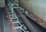 China Industrial 4 - 30mm Thick Pipe Conveyor Belt Rubber Rolling Type / Hanging Type company
