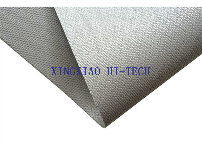 7cdf978299cd Gray Color Silicone Coated Fireproof Fiberglass Fabric High Insulation  Performance