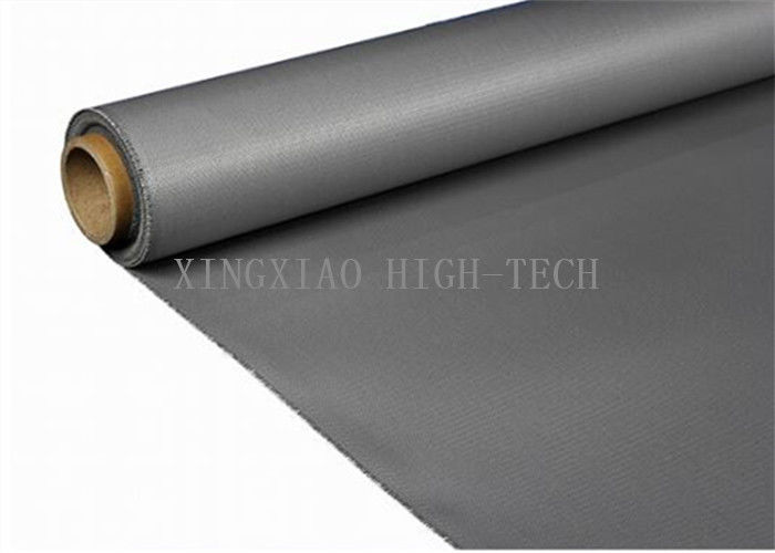 Silicone Rubber Coated Glass Fiber Fabric Cloth , Heat Resistant