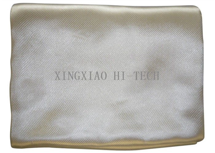 Flame Resistant High Silica Fabric 1000-1200 ℃  High Temperature Resistant