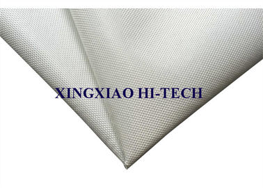 High Intensity Fireproof Fiberglass Fabric 0.40 - 5.0mm Heat Insulation