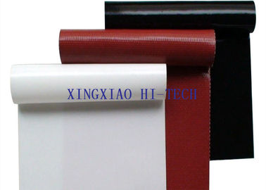 High Strength Fireproof Silicone Coated Fiberglass Fabric Different Colors