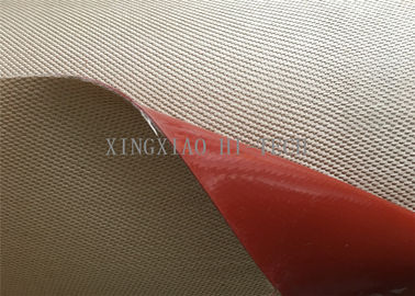 Chemical Corrosion Silicone Coated High Silica Fiberglass Fabric Cloth Multi Color