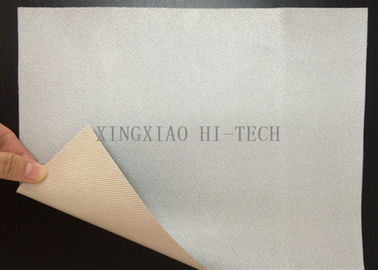 Heat Resistant Fireproof High Silica Fabric Pu Coated High Tensile Strength