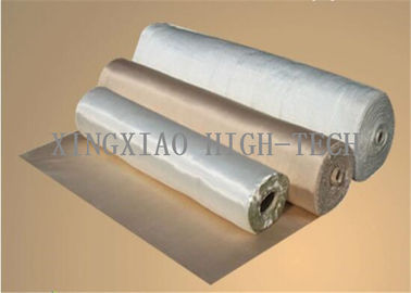 China Acrylic Coated High Silica Fabric For Piping Flame Retardant Anti Corrosion factory