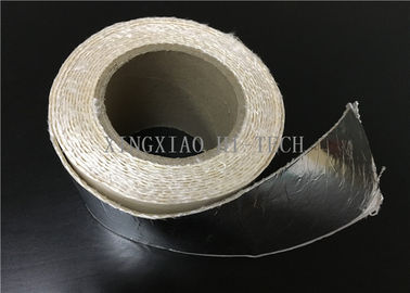 China High Temperature Resistant Fireproof High Silica Fabric Tape Aluminum Foil Coated factory