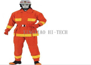 China Flame Resistant Fire Protection Suit , Fire Fighting Protective Clothing factory