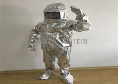 Wearproof Heat Insulation Fire Protection Suit Anti - Bites High Strength Tensile