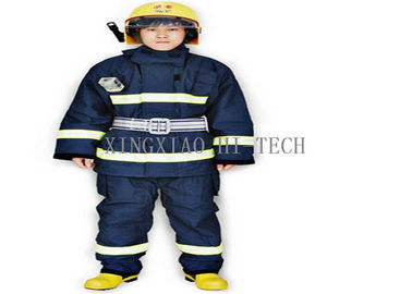 China Wear Resistant Fire Safety Suit , Chemical Protective Fire Retardant Safety Clothing factory