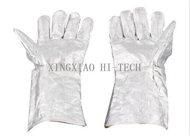 China High Temperature Resistant Firefighter Structural Gloves Flame Resistant / Retardant factory