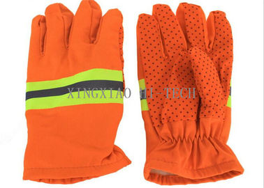China Industrial Long Heat Resistant Kevlar Welding Work Gloves Thermal Insulation factory