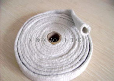 China High Temperature Ceramic Fiber Heat Insulation Sleeve / Sleeving Fire Retardant factory