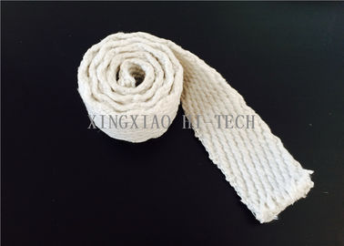China Steel Wire Reinforced Insulation Ceramic Fiber Tape Abrasions Resistance factory