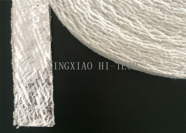 China Aluminum Foil Coated Insulation Ceramic Fiber Tape Fireproof Heavy Duty factory