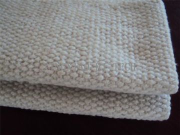 2 - 10mm Thickness Ceramic Fiber Insulation Blanket For Wood Stoves / Steel Wire Reinforced