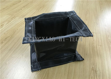 China Rectangular Fireproof Flanged Expansion Joint Fabric High Temperature Resistant factory