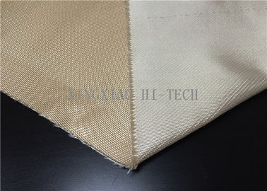 China Plain / Satin Weaving Fireproof Fiberglass Fabric Heat Resistant Corrosion Resistant factory