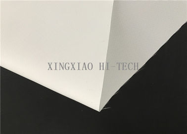 CE 0.2mm White Silicone Rubber One side Coated Fiberglass Cloth Width 1270mm