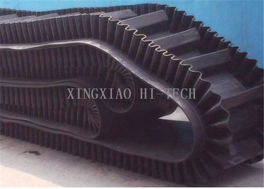 S / W / SW Type Sidewall Conveyor Belt 40 - 280mm Sidewall Height Rubber Conveyor Belt