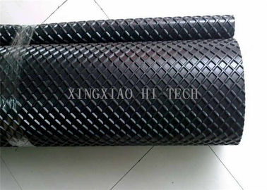 China Anti - Skid -10 - 80℃ Natural Rubber Pattern Conveyor Belt For Mining Industry factory
