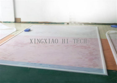 China Red / Transparent Silicone Rubber Sheet Glass Industry Rubber Silicone Sheet factory